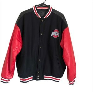 Steve and Barry Ohio State Varsity Jacket Size L